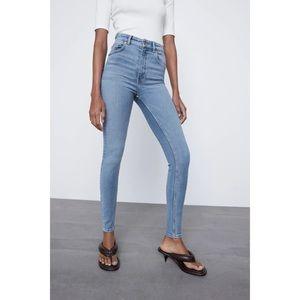 Zara Super Skinny High Waisted Jeans